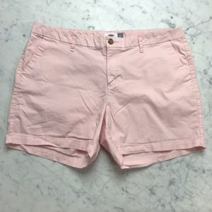Old Navy Plus 16 Light Pink Khaki Chino Shorts